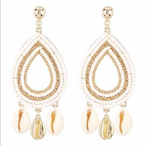 Rebecca Minkoff Louisa Beaded Chandelier Earrings